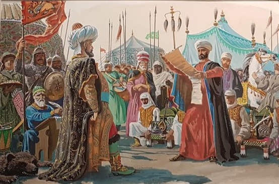 A royal proclamation in medieval Kazan
