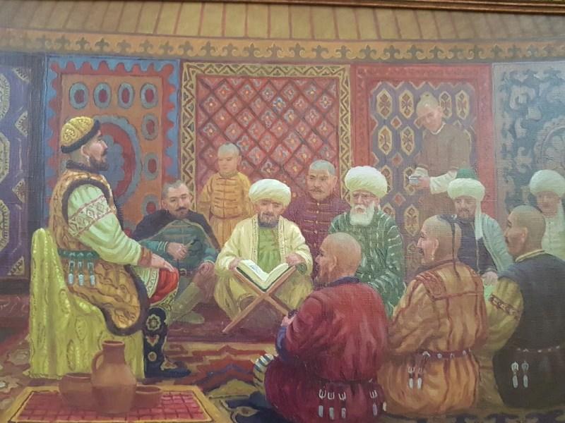 Noblemen in medieval Kazan