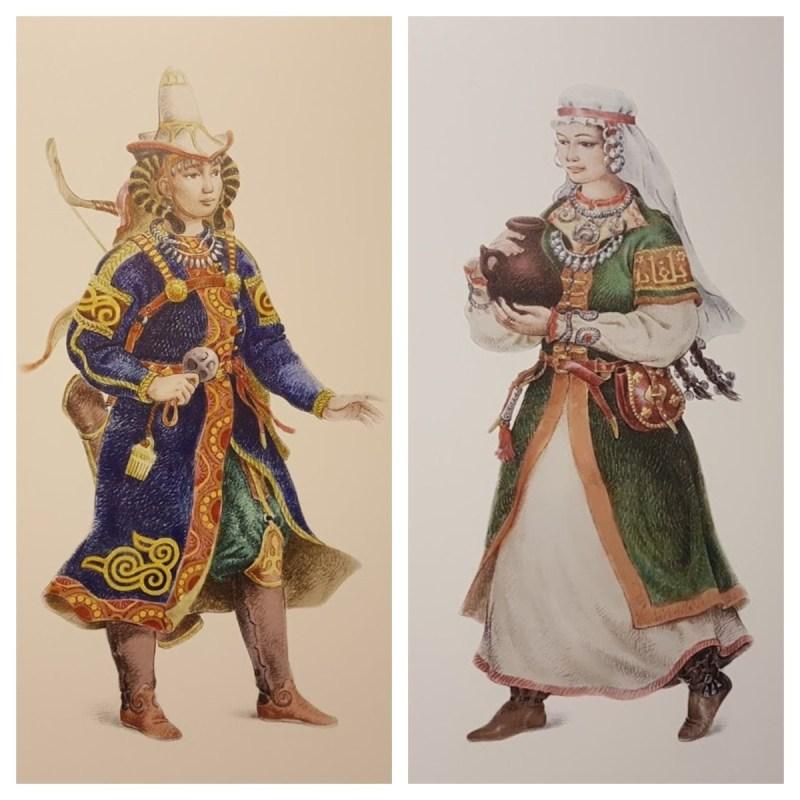 Kazan Tatar women