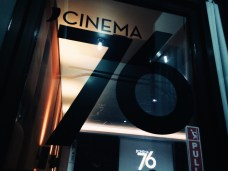 Cinema '76, a small movie house screening independent films