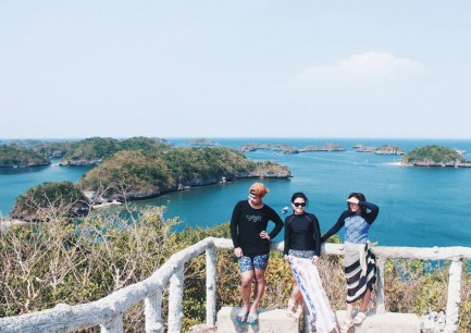 Hundred Islands view deck