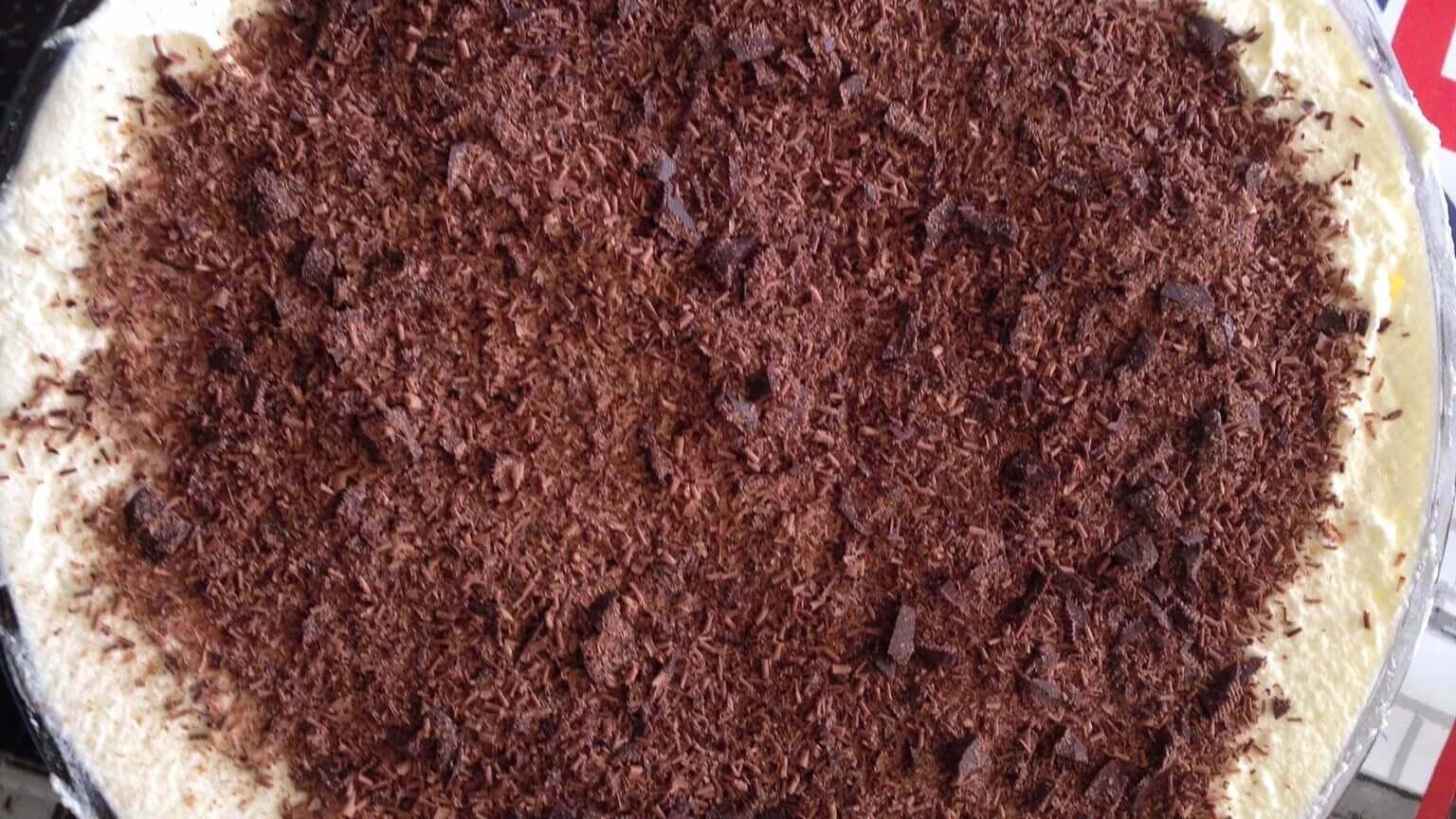 Chocolate Cheesecake Tart