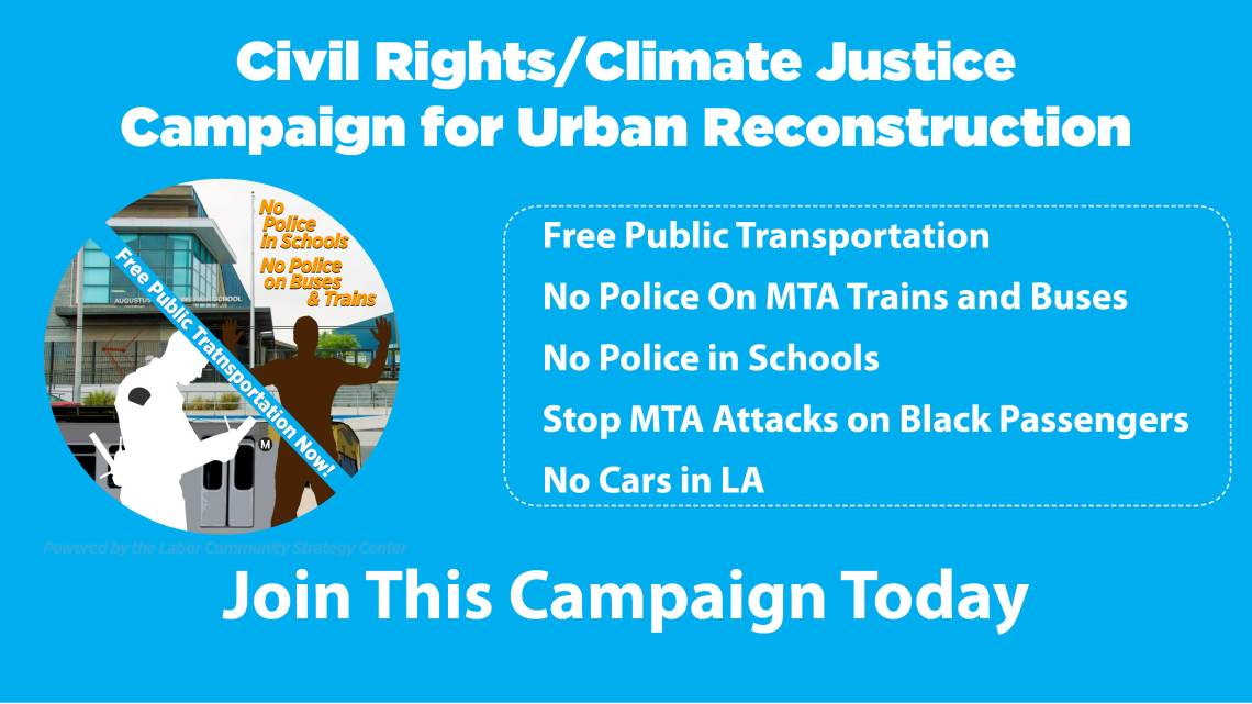 Civil Rights Climate Justice Campaign for Urban Reconstruction