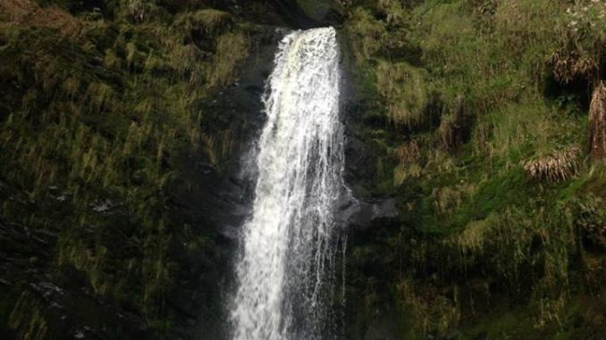 north wales waterfall