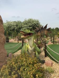 crazy golf at Bents garden & home