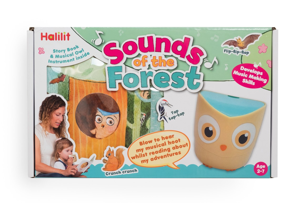 sounds of the forest book