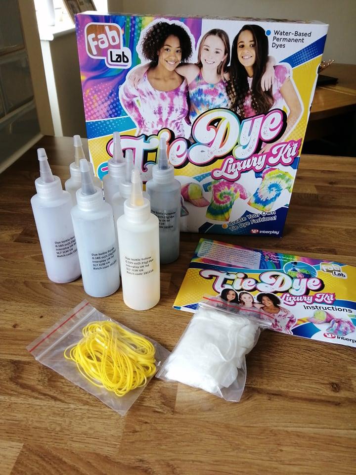 tie dye luxury kit
