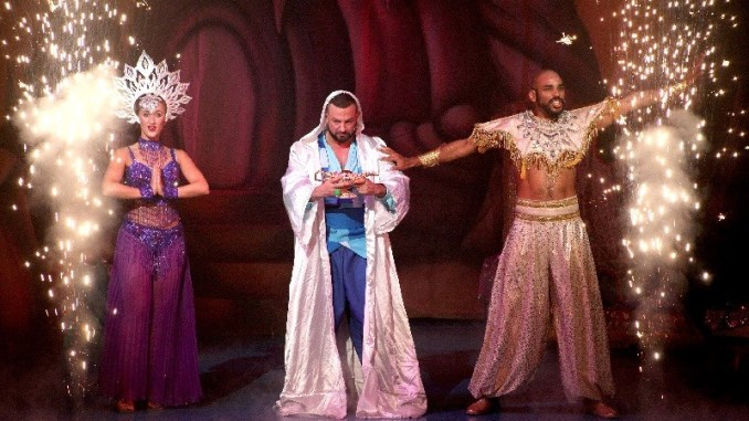 Aladdin at st helens theatre royal