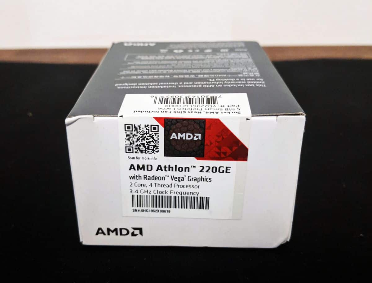 Amd Athlon 220ge Cpu Review The Streaming Blog