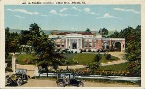Candler Mansion (built 1916) at 1500 Ponce de Leon Avenue in Druid Hills