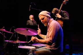 The Bad Plus (Ethan Iversen - piano; Reid Anderson - bass; Dave King - drums) at the 2015 Capital Jazz Project held at the Street Theatre -- Civic, Canberra, ACT