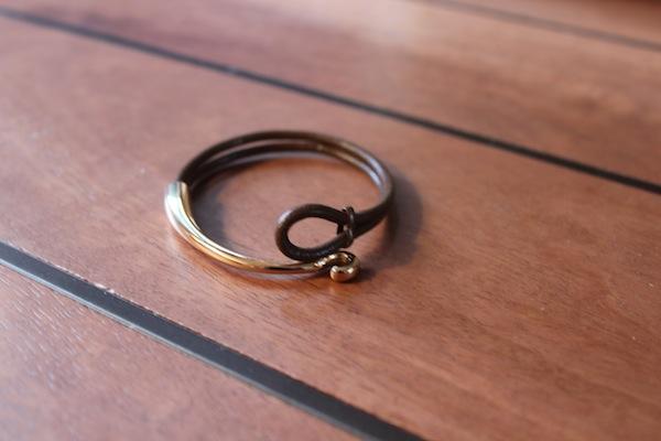 Diy Leather Wrap Bracelet The Stripe