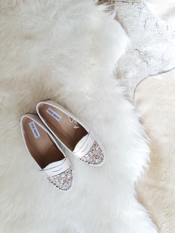 DIY Jeweled Slippers
