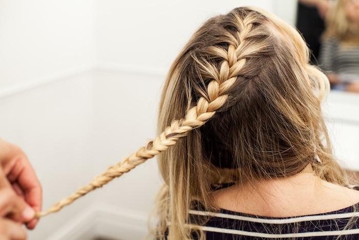 game of thrones khaleesi braid hair tutorial step 10
