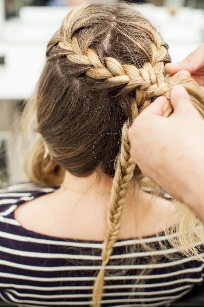 game of thrones khaleesi braid hair tutorial step 11