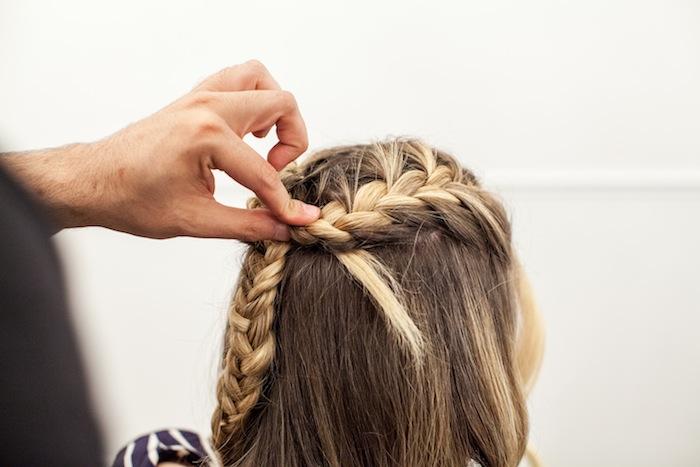game of thrones khaleesi braid hair tutorial step 17