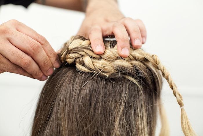 game of thrones khaleesi braid hair tutorial step 19