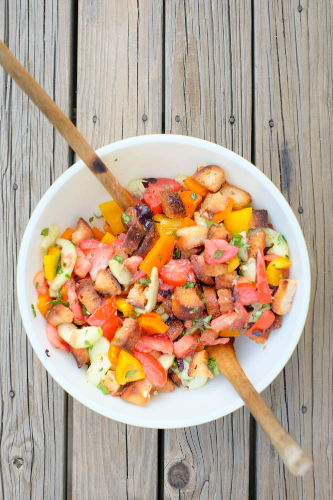 Panzanella Salad Recipe - 10 of the Best Make Ahead Holiday Appetizers
