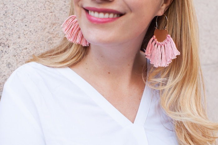 DIY Tassel Earrings 3