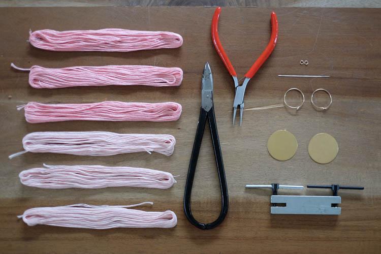DIY Tassel Earrings1