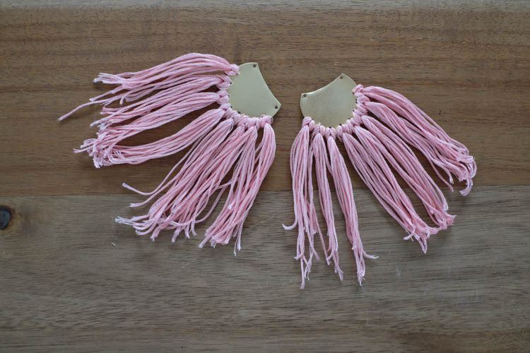 DIY Tassel Earrings15