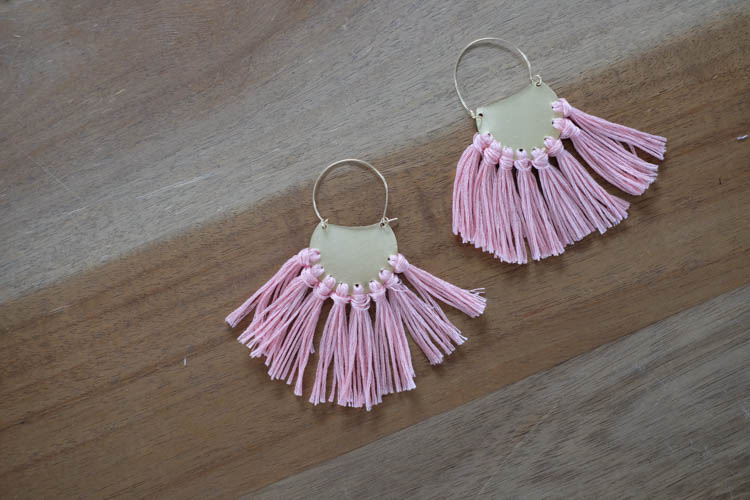 DIY Tassel Earrings21