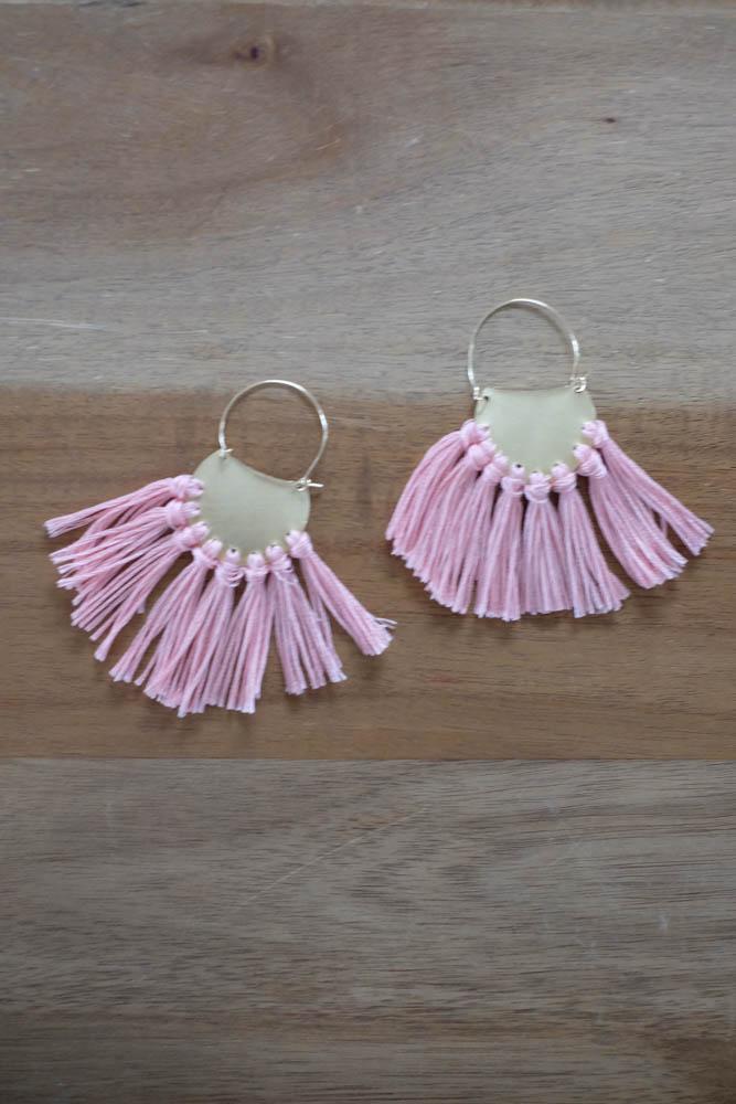DIY Tassel Earrings22