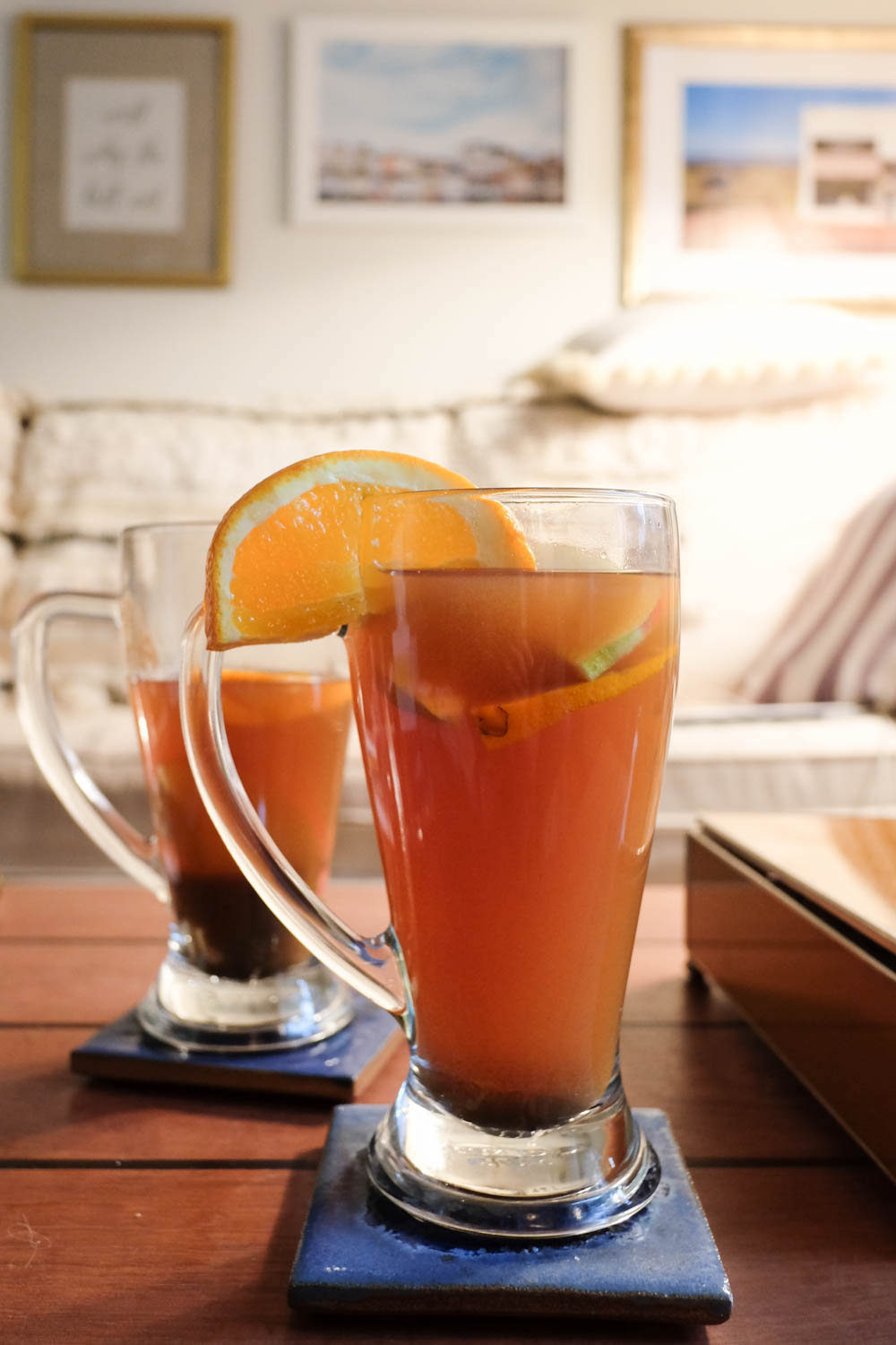 Spiked Apple Cider Recipe - The Stripe.