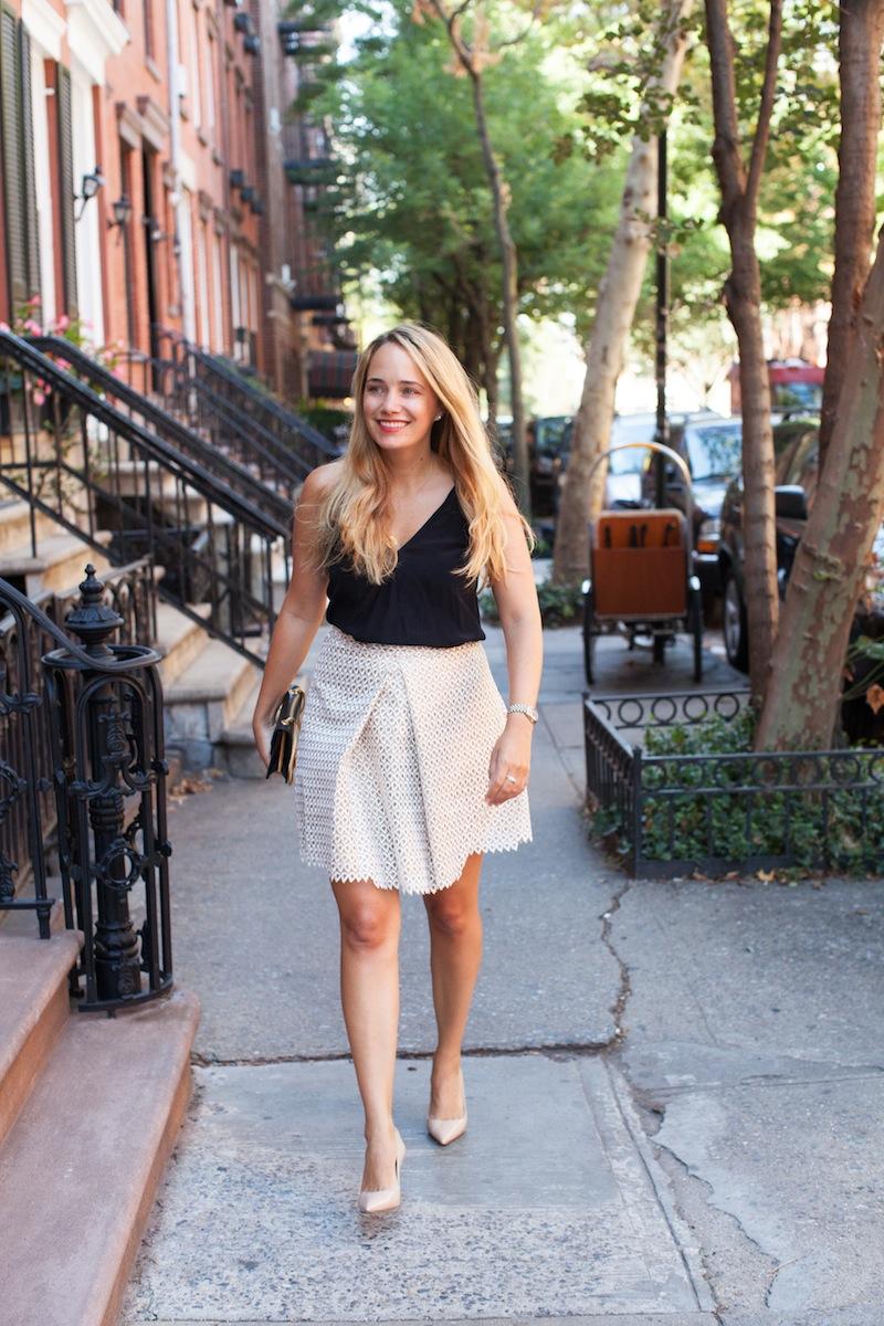 reiss starla skirt - the stripe