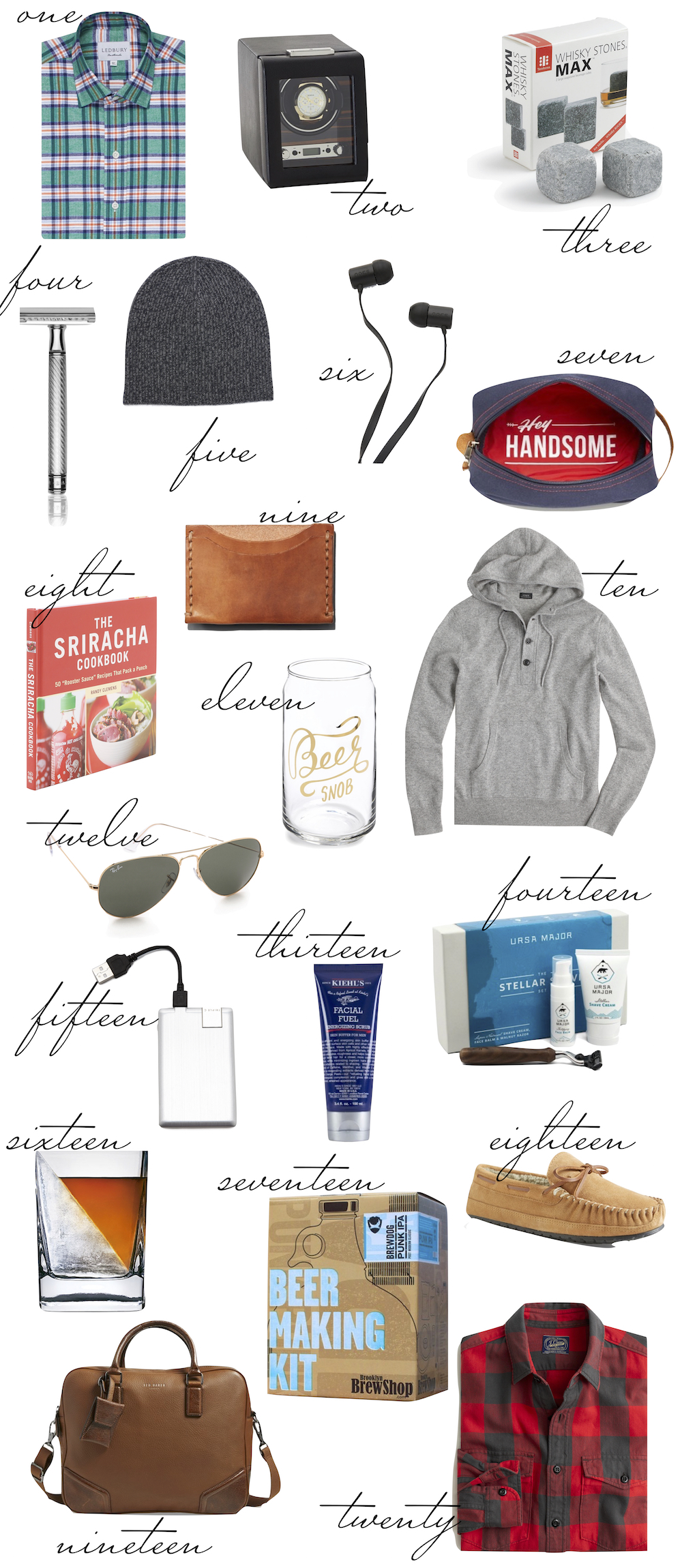 The Stripe Gift Guide- the dude