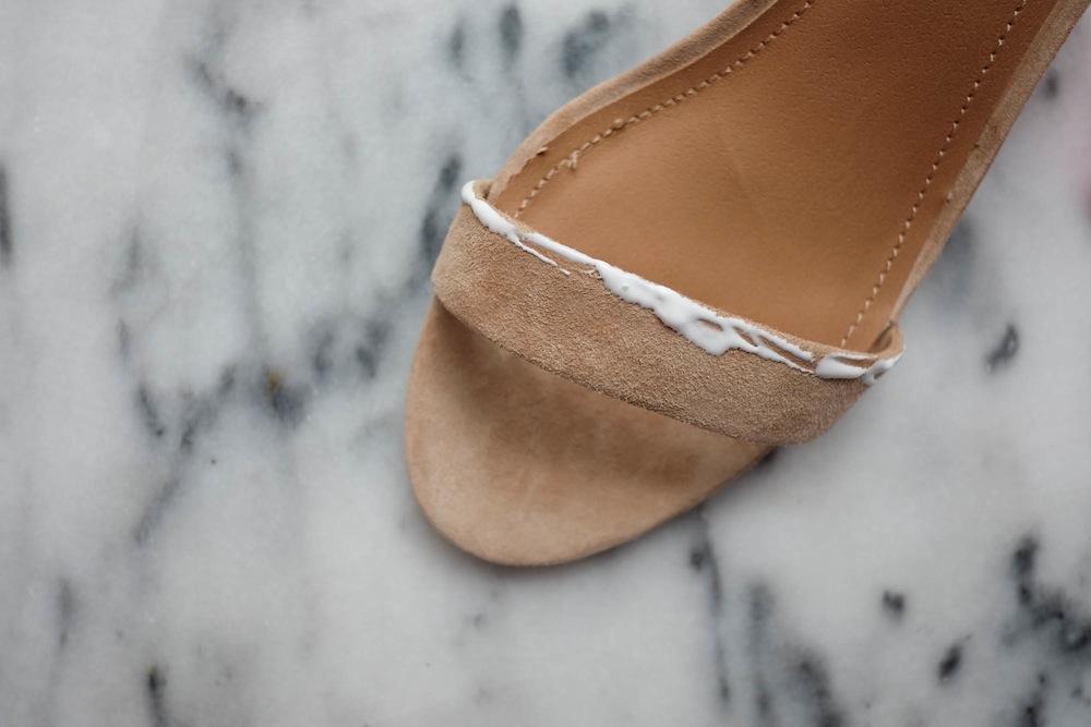 DIY Aquazzura Pom Pom Sandals3