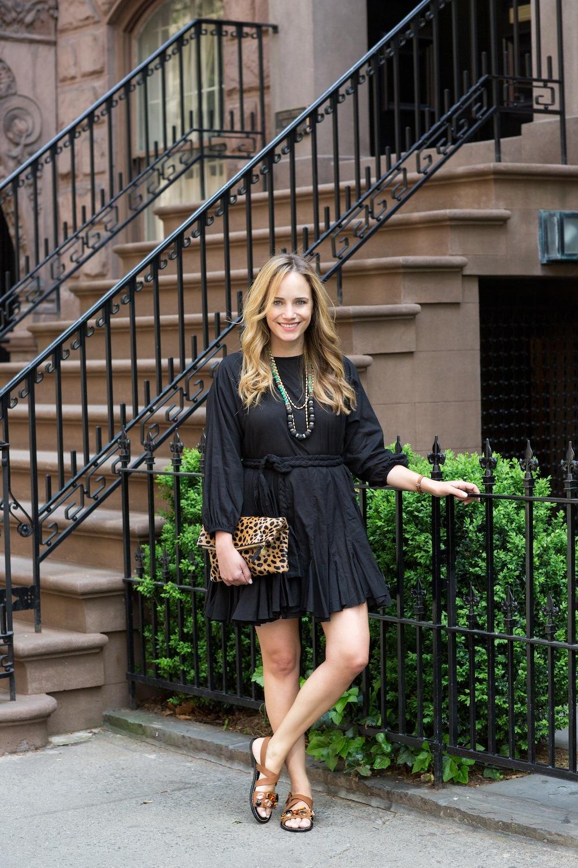 Rhode Resort Ella Dress (bought at Hampden Clothing) - Grace Atwood, The Stripe Blog