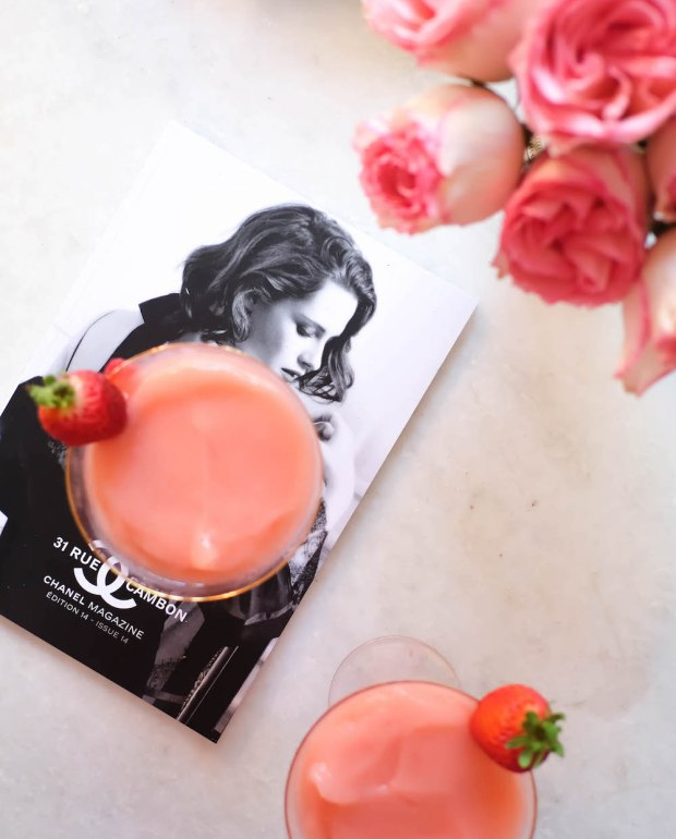 How to make Frosé - The Stripe // An easy recipe inspired by Bar Primi in New York City