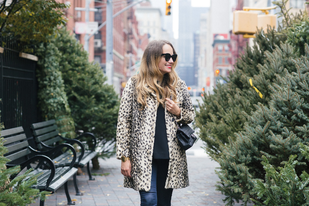 Leopard Coat - Grace Atwood, The Stripe