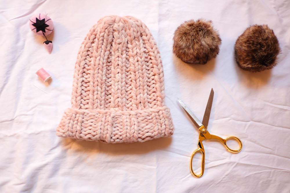diy eugenia kim mimi beanie | materials | the stripe blog