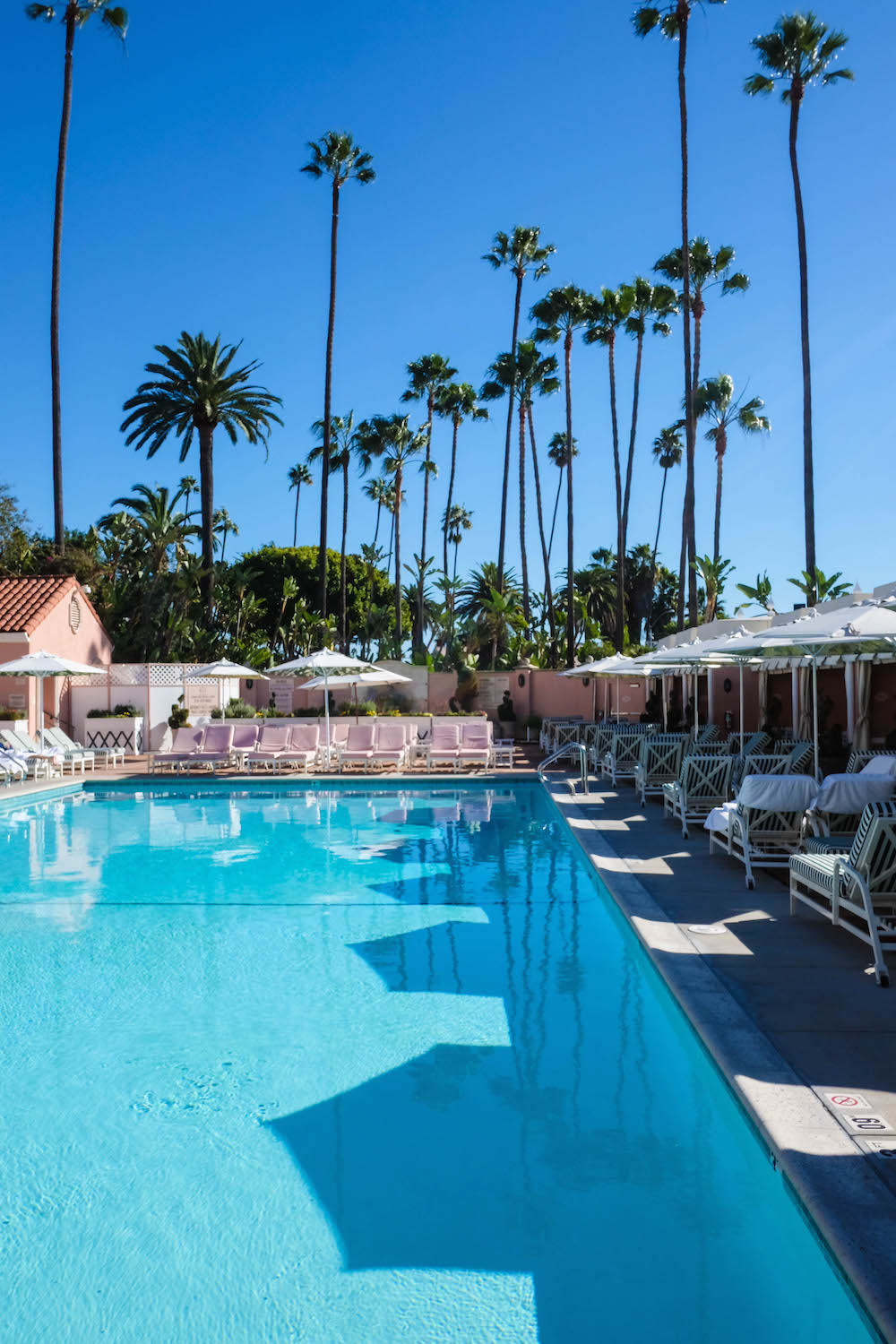 Beverly Hills Hotel pool area