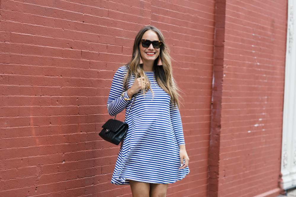 jane hudson stripe dress | the stripe