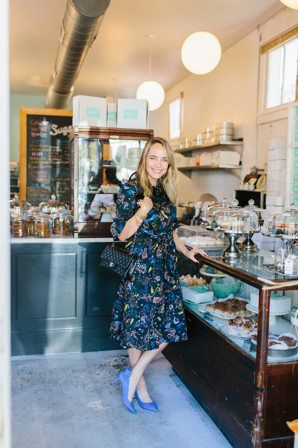 sugar bakeshop charleston! vivetta montpellier dress from hampden clothing | grace atwood, the stripe