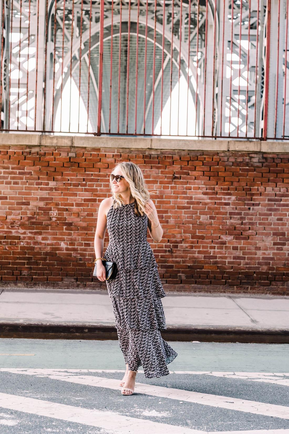 favorite new maxi dress - the stripe