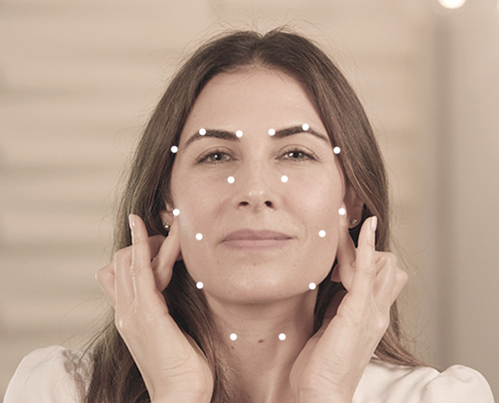 acupressure points on face