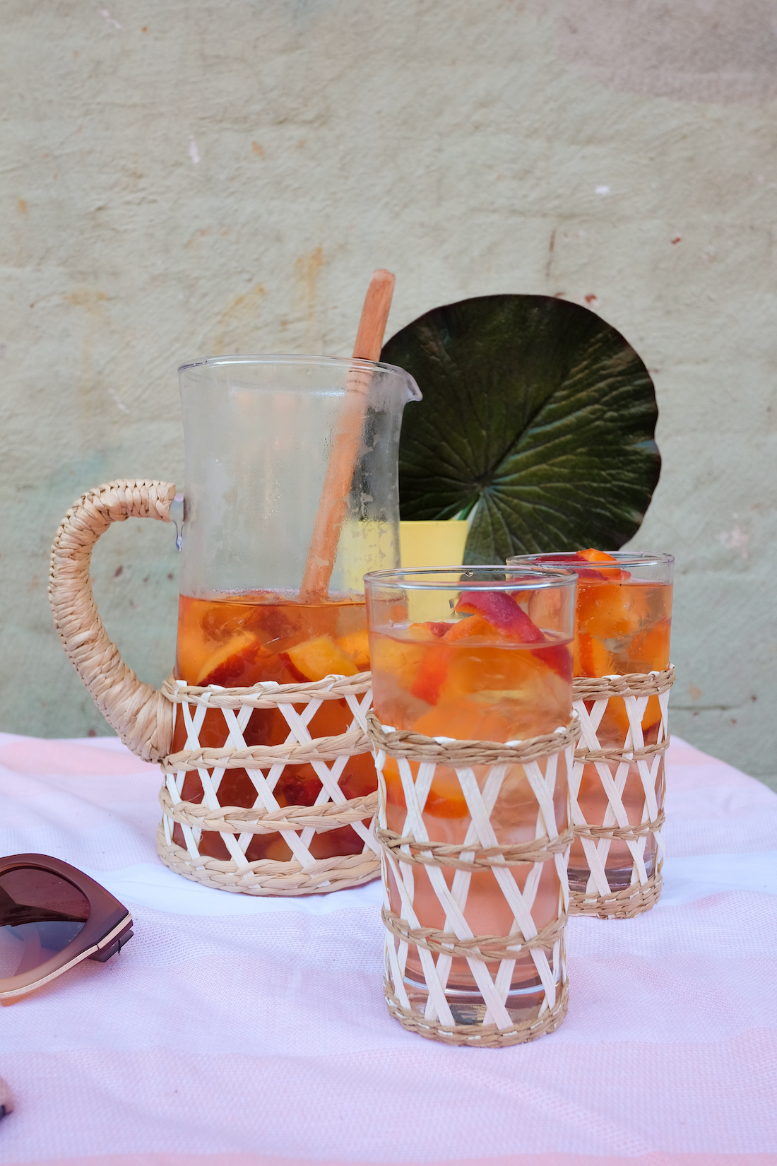 how to make a refreshing summer cocktail, perfect for the patio!