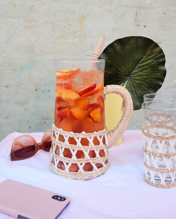 An Easy Summer Rosé Punch Recipe