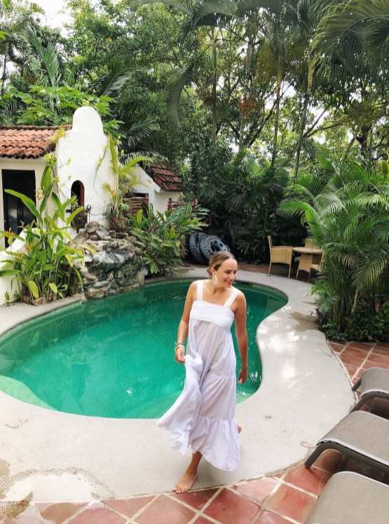ulla johnson bess dress // grace atwood, the stripe - sayulita, mexico