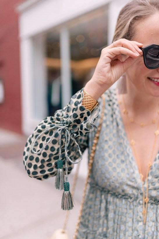 Julie Vos Necklaces // Julie Vos Cuff // Karen Walker Sunglasses
