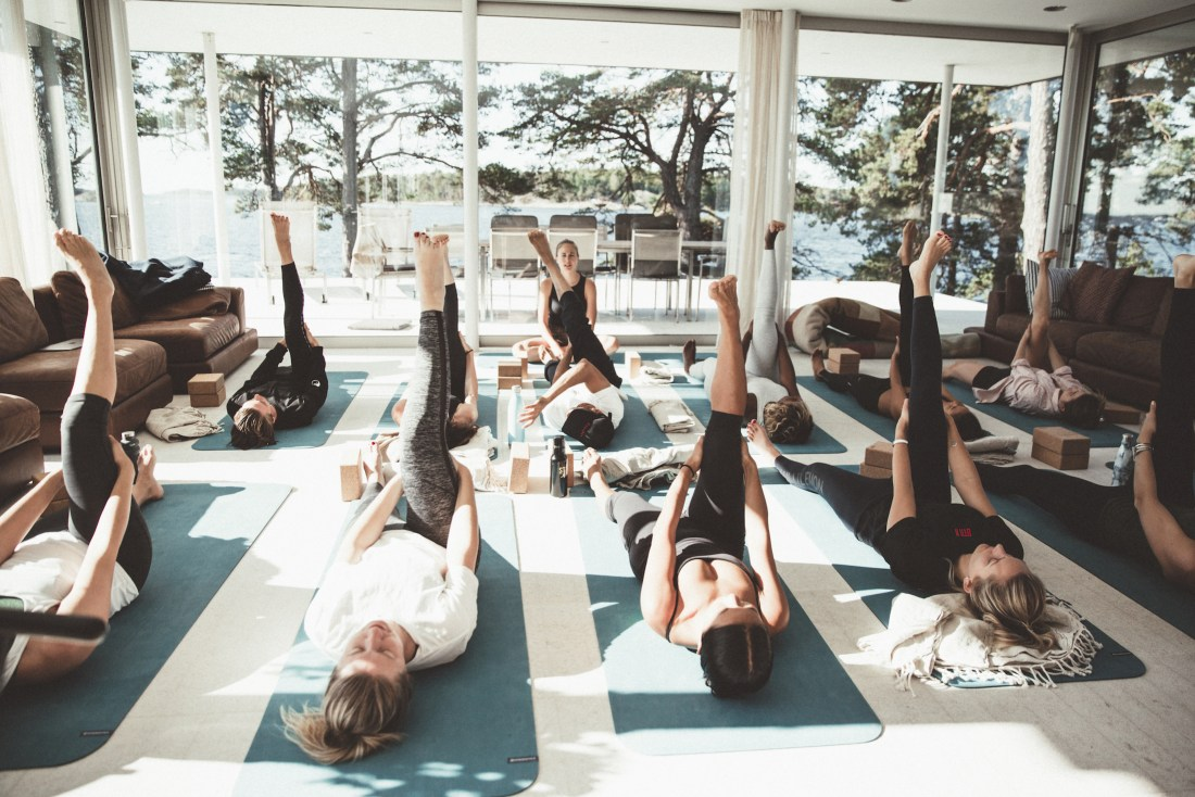 yoga retreat with six travel and sky ting yoga