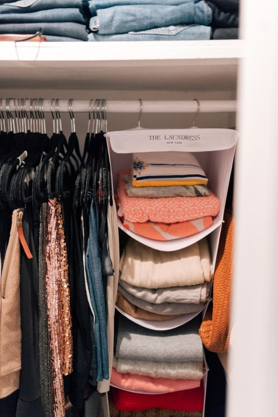 Closet Makeover with Laundress
