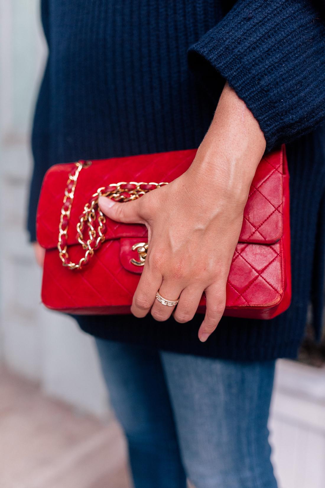 Outfit Details: Vintage Chanel Bag