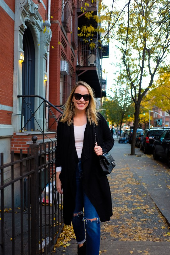 a cozy fall outfit and the best fall sale 10