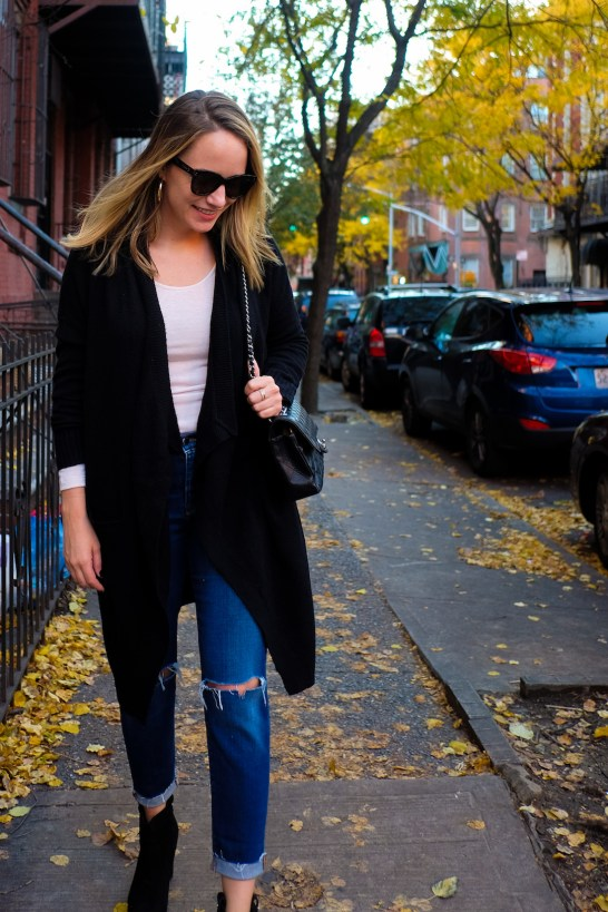 a cozy fall outfit and the best fall sale 7