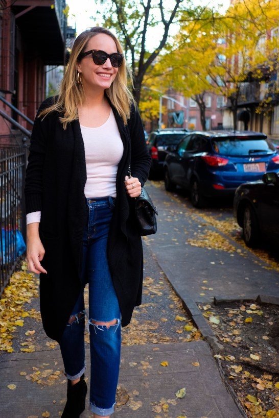 a cozy fall outfit and the best fall sale 8